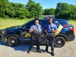 Equipment Donation: Achille Police Department Oklahoma