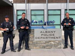 Equipment Donation: Albany Police Department Oregon