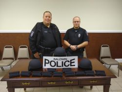 Equipment Donation; Baldwin Police Department Georgia