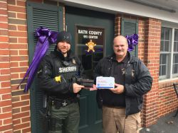 Equipment Donation: Bath County Sheriff's Office Virginia