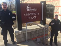 Equipment Donation: Bloomsburg University Police Department Pennsylvania