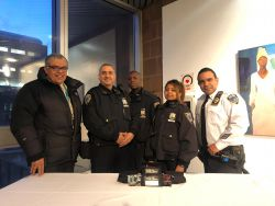 Equipment Donation: CUNY Department of Public Safety at BMCC New York