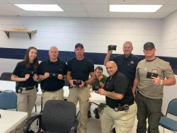 Equipment Donation: Camden County Sheriff's Office Georgia