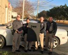 Equipment Donation: Cape Charles Police Department Virginia