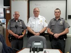 Equipment Donation: Cedar Bluff Police Department Virginia