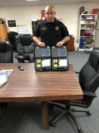 Equipment Donation: Chouteau Police Department Oklahoma