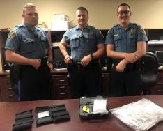 Equipment Donation: Clinton Police Department Oklahoma