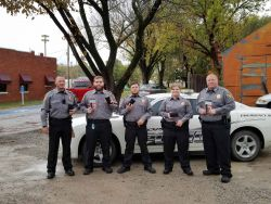 Equipment Donation: Copan Police Department Oklahoma