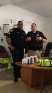 Equipment Donation: Cottonwood Shores Police Department Texas