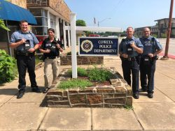 Equipment Donation: Coweta Police Department Oklahoma