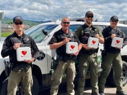 Equipment Donation: Cowlitz County Sheriff's Office Washington