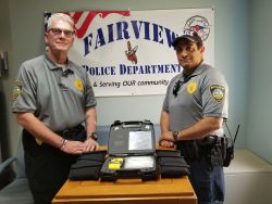 Equipment Donation: Fairview Police Department Oklahoma