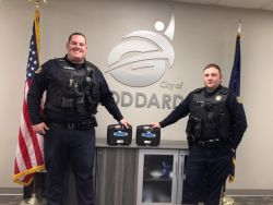 Equipment Donation: Goddard Police Department Kansas