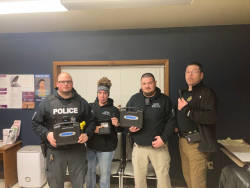 Equipment Donation: Gore Police Department Oklahoma