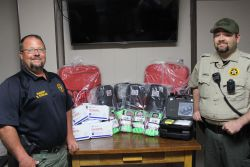 Equipment Donation: Grant County Sheriff's Office, Oklahoma