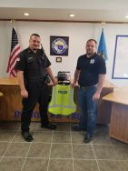 Equipment Donation: hartshorne Police Department Oklahoma