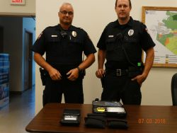 Equipment Donation: Heidelberg Township Police Department Pennsylvania