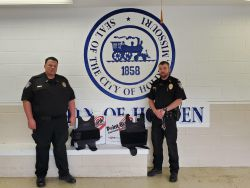Equipment Donation: Holden Police Department Missouri