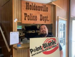 Equipment Donation: Holdenville Police Department Oklahoma