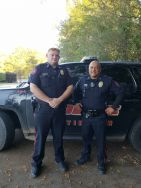 Equipment Donation: Huntington Police Department Texas