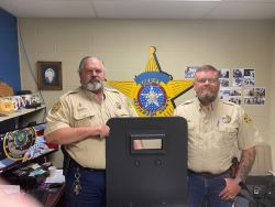 Equipment Donation: Jefferson County Sheriff's Office Oklahoma