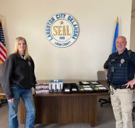 Equipment donation: Langston Police Department Oklahoma