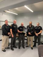 Equipment Donation: Logan County Sheriff's Department West Virginia