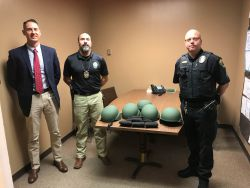 Equipment Donation: Lovington Police Department New Mexico