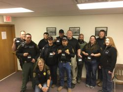 Equipment Donation: Maud Police Department Oklahoma