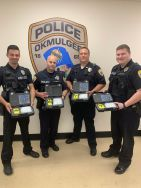 Equipment Donation: Okmulgee Police Department Oklahoma