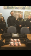 Equipment Donation: Overbrook Police Department Kansas