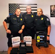 Equipment Donation: Patton Village Police Department Texas