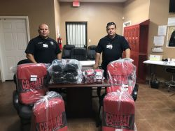 Equipment Donation: Penitas Police Department Texas
