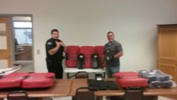 Equipment Donation: Pittsburg County Sheriff's Office Oklahoma