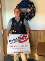 Equipment Donation: Pond Creek Police Department Oklahoma