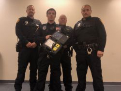 Equipment Donation: Ridgeville Police Department Indiana