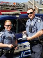 Equipment Donation: Rumford Police Department Maine