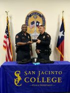 Equipment Donation: San Jacinto College Police Department Texas