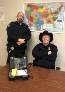 Equipment Donation: Sawyer Police Department Oklahoma