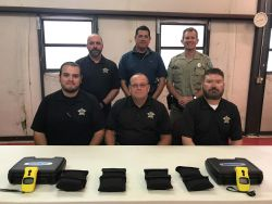 Equipment Donation: Schleicher County Sheriff's Office Texas