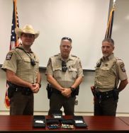 Equipment Donation: Scurry County Sheriff's Office Texas