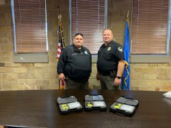 Equipment Donation: Sperry Police Department Oklahoma