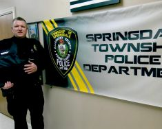 Equipment Donation: Springdale Township Police Department Pennsylvania