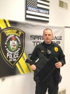 Equipment Donation: Springdale Township Police Department, Pennyslvania