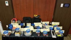 Equipment Donation: Virginia Association of Directors of Criminal Justice Training Conference