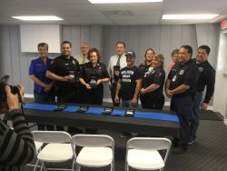 Equipment Donation: Wallis Police Department Texas