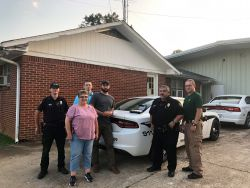 Equipment Donation: Water Valley Police Department Mississippi