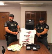 Equipment Donation: Webbers Falls Police Department Oklahoma