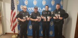 Equipment Donation: Westlake Police Department