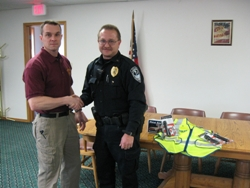 Equipment Donation: Bentley Police Department, Kansas